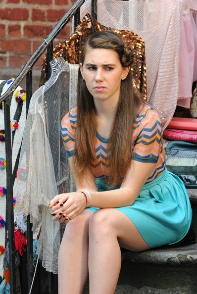 'Girls' on Set in Soho 2