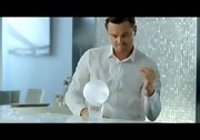 Leonardo DiCaprio looked immaculate wearing a crisp white button-down in his Jim Beam commercial.
