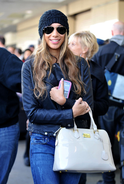 Leona Lewis Aviator Sunglasses