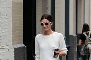 Lily Aldridge Wide Leg Pants