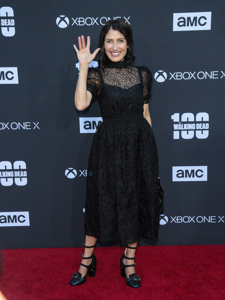 Lisa Edelstein Lace Dress