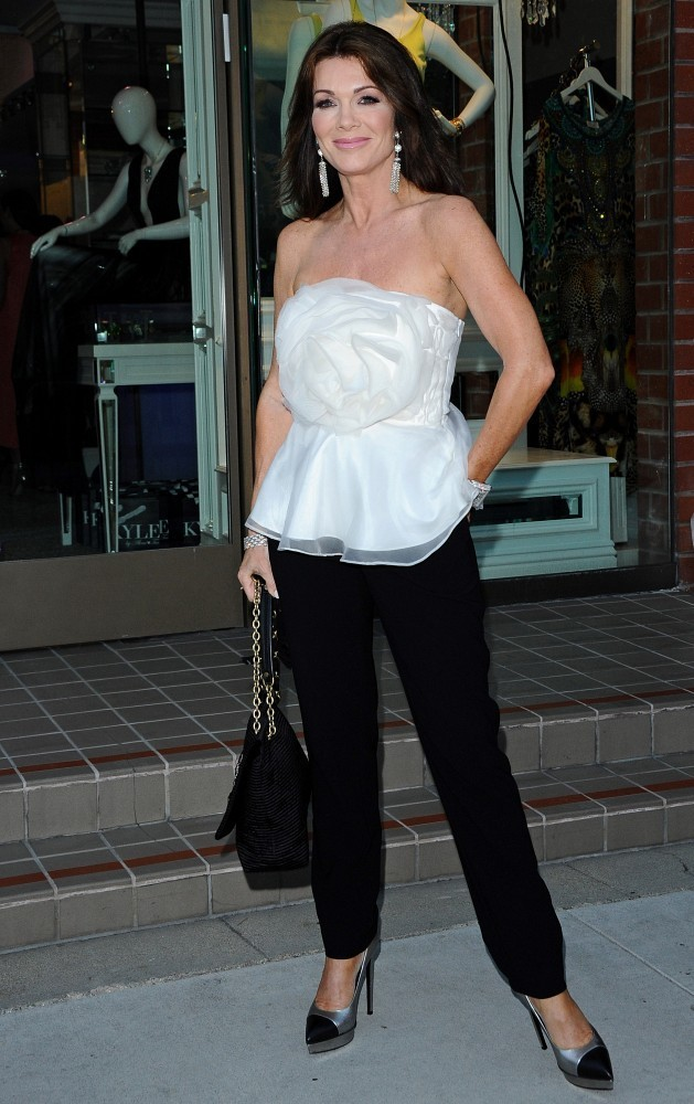 Lisa Vanderpump Slacks Lisa Vanderpump Looks Stylebistro