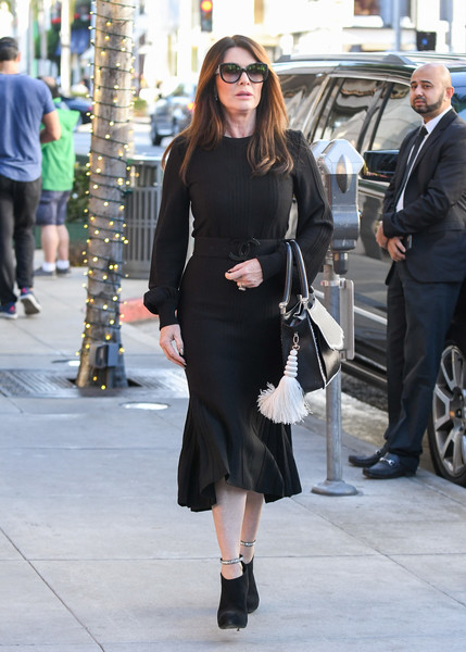 More Pics of Lisa Vanderpump Little Black Dress (1 of 7) - Dresses & Skirts Lookbook - StyleBistro