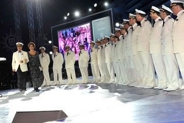Sophia Loren Launches the MSC Divina Luxury Cruise