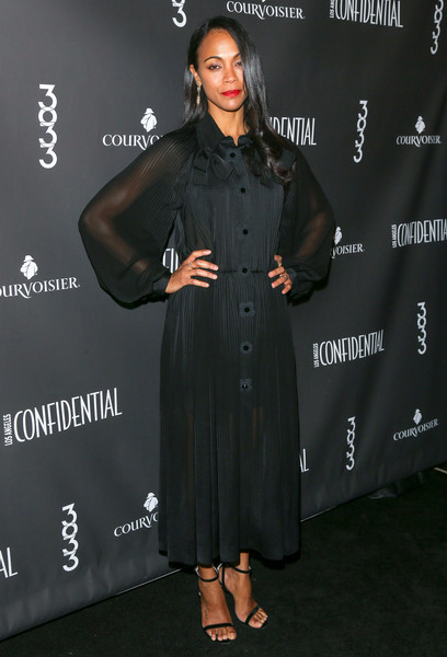 Look of the Day: February 17th, Zoe Saldana