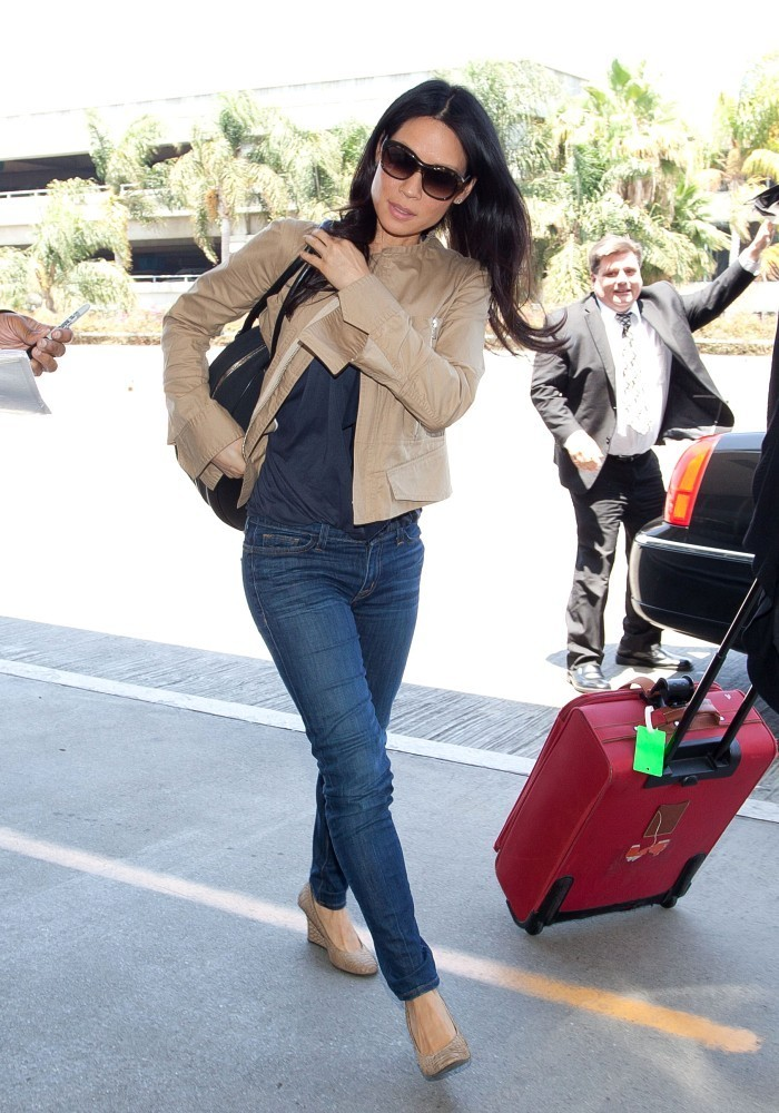 More Pics Of Lucy Liu Skinny Jeans 5 Of 5 Lucy Liu