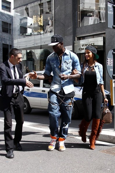 More Pics of Mario Balotelli Denim Shirt (1 of 29) - Denim Shirt Lookbook - StyleBistro