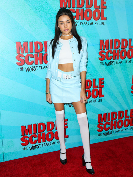 Madison Beer Skirt Suit []