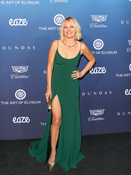Malin Akerman Evening Dress []