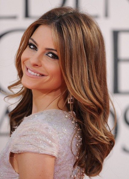 Maria Menounos Long Curls