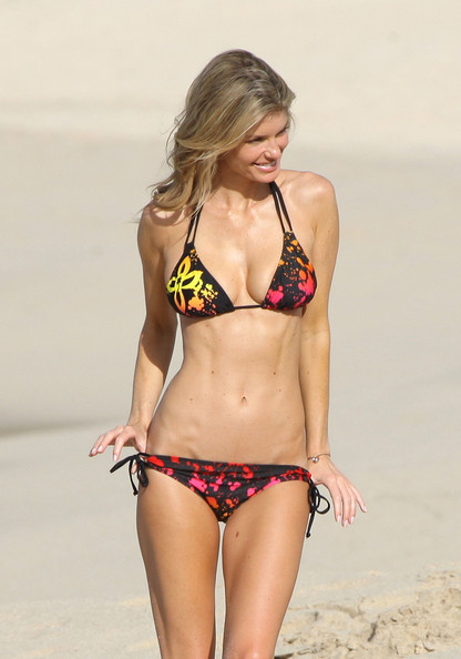 Marisa Miller on a Bikini Photoshoot