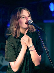 Maya Hawke wore a classic silver bracelet while performing at the Stephen Talkhouse.