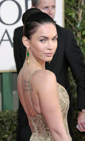 megan fox hair updos. Megan Fox Hair