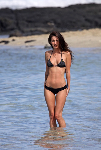 Megan fox string bikini photos