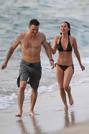 Actor Brian Austin Green has the Chinese symbol for his name inked on the right side of his chest.