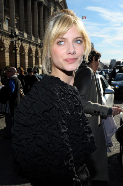 Melanie Laurent Messy Updo