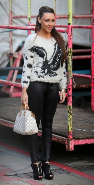 Michelle Heaton Shrug Sweater
