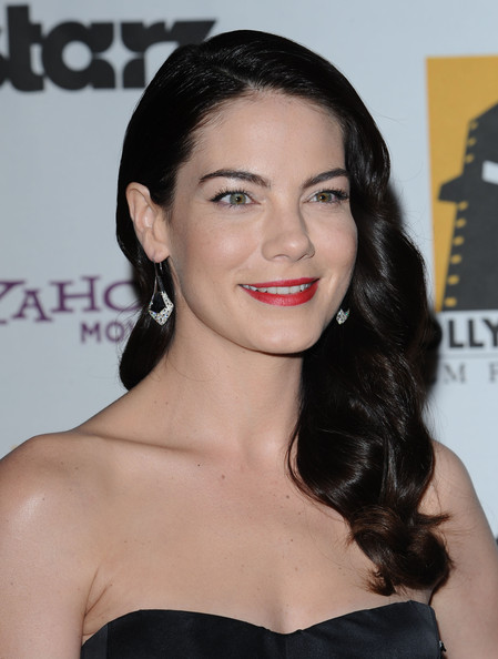 Michelle Monaghan Retro Hairstyle