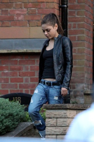 Mila Kunis Leather Jacket