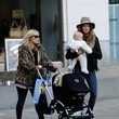 Millie Mackintosh Out for a Stroll With a Friend + Her Friend's Baby