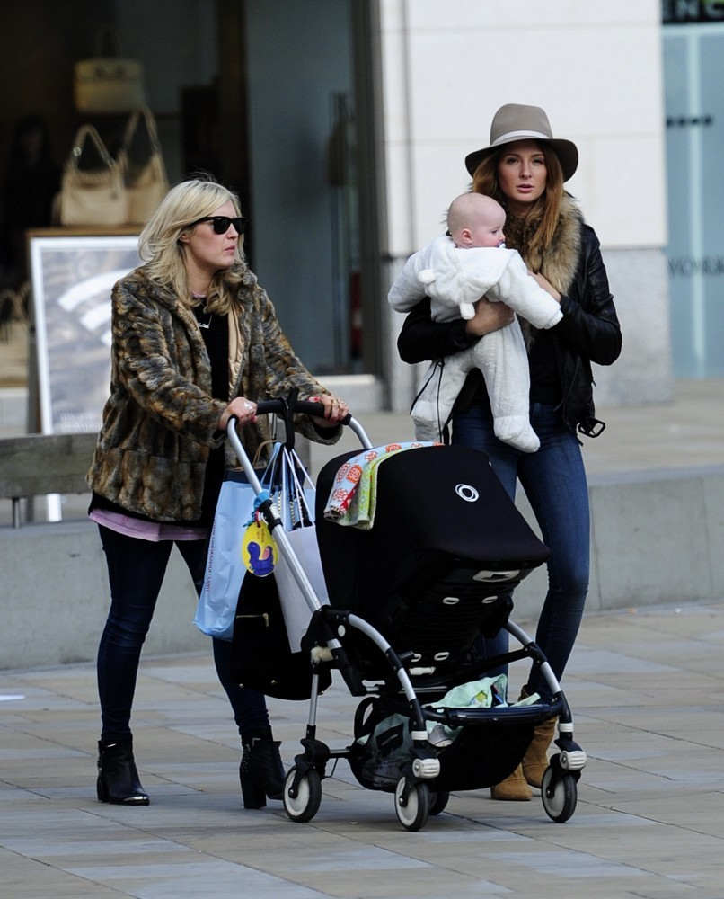 Millie Mackintosh Out for a Stroll With a Friend + Her ...