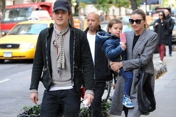 Miranda Kerr Orlando Bloom Orlando Bloom and Miranda Kerr Step Out Together