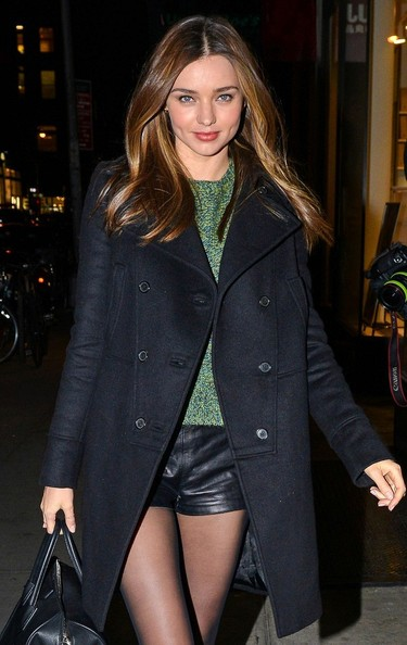 More Pics of Miranda Kerr Wool Coat (4 of 5) - Miranda Kerr Lookbook - StyleBistro