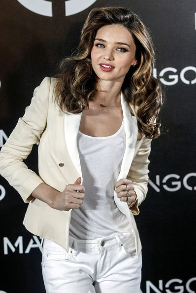 More Pics of Miranda Kerr Blazer (3 of 14) - Miranda Kerr Lookbook - StyleBistro
