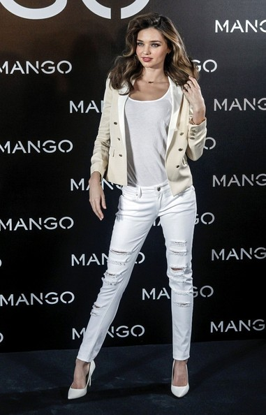More Pics of Miranda Kerr Blazer (2 of 14) - Miranda Kerr Lookbook - StyleBistro