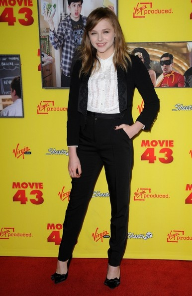 More Pics of Chloe Grace Moretz Pantsuit (5 of 9) - Chloe Grace Moretz Lookbook - StyleBistro