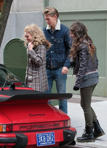 More Pics of Austin Butler Denim Jacket (1 of 11) - Denim Jacket Lookbook - StyleBistro
