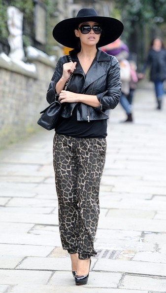 Myleene Klass Leather Jacket
