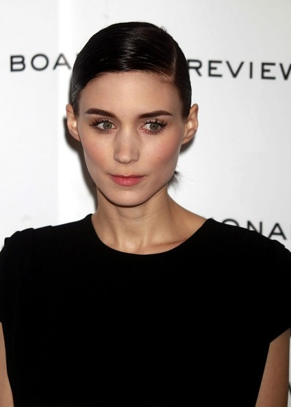 More Pics of Rooney Mara Ponytail (1 of 2) - Long Hairstyles Lookbook - StyleBistro