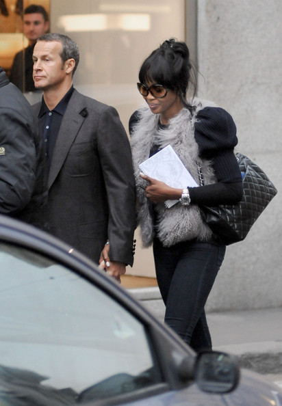 More Pics of Naomi Campbell Quilted Leather Bag (1 of 5) - Naomi Campbell Lookbook - StyleBistro []
