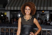 Nathalie Emmanuel Little Black Dress