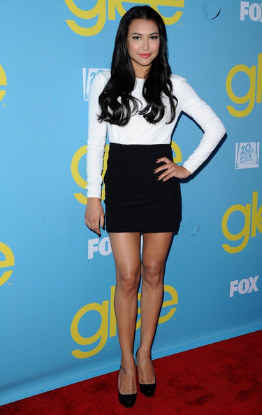 Naya Rivera Mini Skirt
