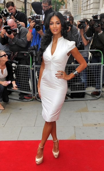 Nicole Scherzinger Cocktail Dress