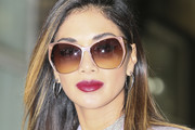 Nicole Scherzinger Layered Cut