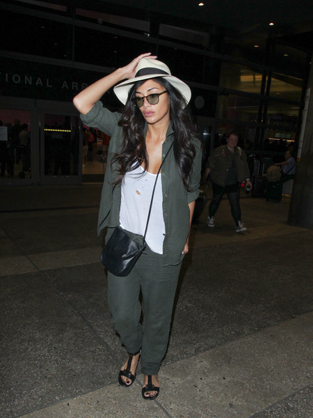 Nicole Scherzinger Button Down Shirt
