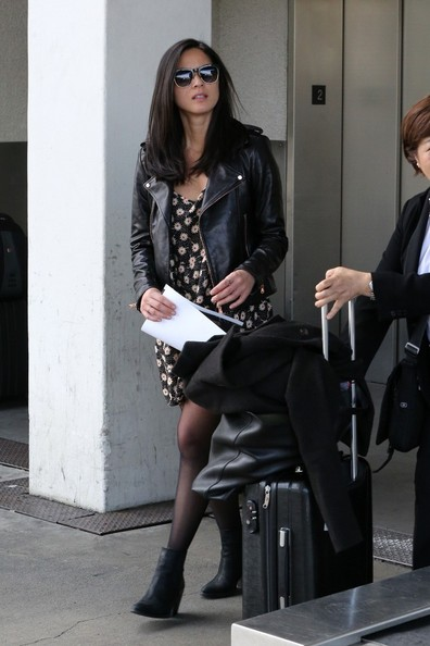 More Pics of Olivia Munn Ankle Boots (1 of 12) - Boots Lookbook - StyleBistro