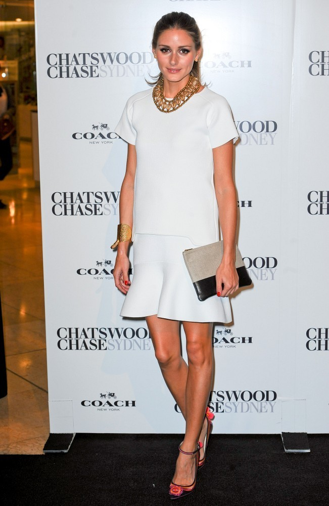 Olivia Palermo Promotes Coach Down Under