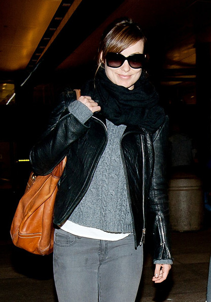 Olivia Wilde Leather Jacket