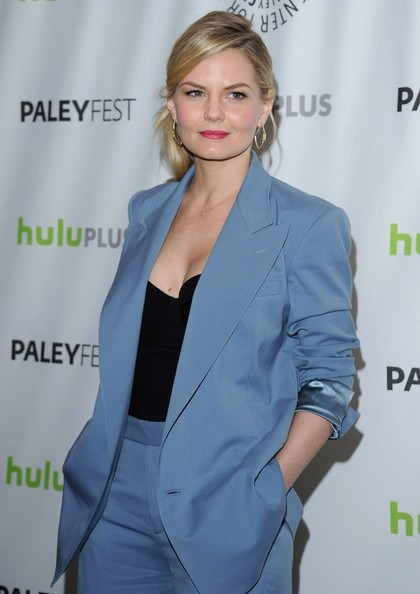More Pics of Jennifer Morrison Gold Hoops (5 of 14) - Gold Hoops Lookbook - StyleBistro