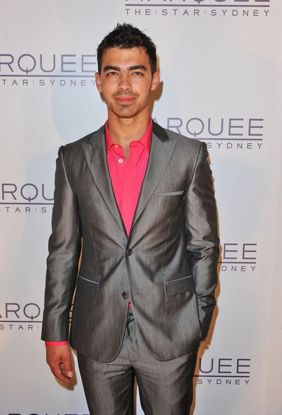 More Pics of Joe Jonas Men's Suit (2 of 3) - Joe Jonas Lookbook - StyleBistro