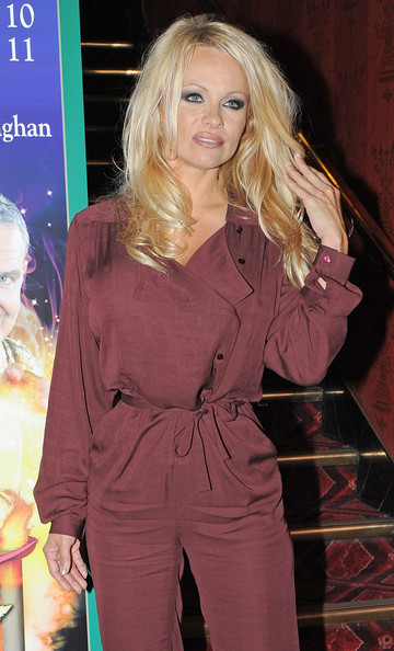 More Pics of Pamela Anderson Jumpsuit (1 of 4) - Pamela Anderson Lookbook - StyleBistro
