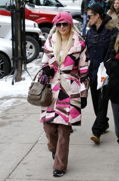 Paris Hilton Down Jacket