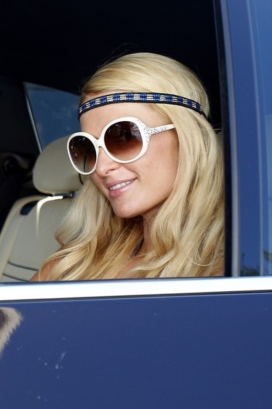 More Pics of Paris Hilton Monokini (1 of 10) - Monokini Lookbook - StyleBistro
