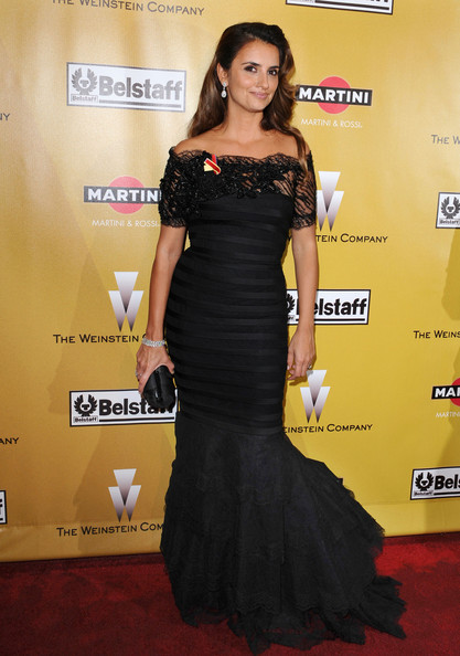 Penelope Cruz Mermaid Gown