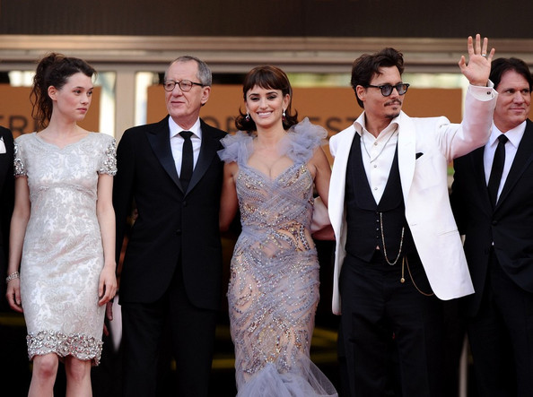 """Cannes 2011 - """"Pirates of the Caribbean"""" Premiere."""