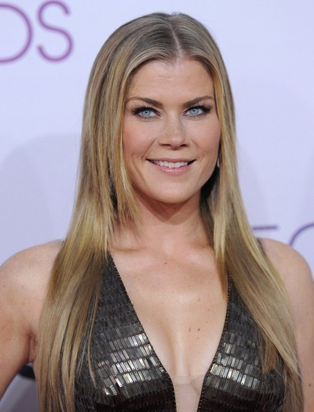 More Pics of Alison Sweeney Beaded Dress (1 of 5) - Alison Sweeney Lookbook - StyleBistro